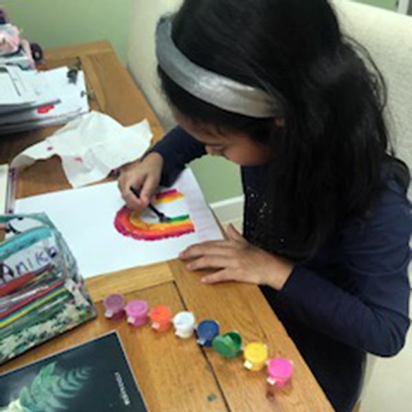 Anika painting